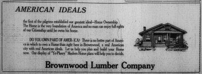 Brownwood Bulletin, 1920