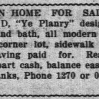 PlanryHous9-21-1920