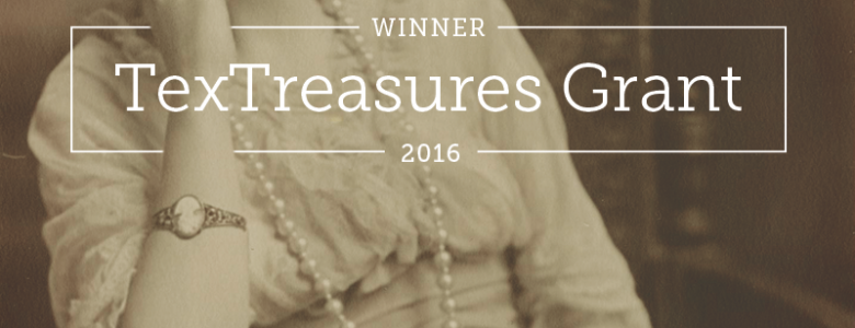 TexTreasures Grant Award