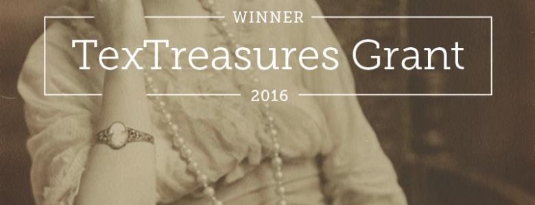 TexTreasures Grant Award