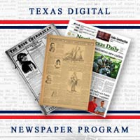 Texas Digital Newspaper Program Collection Logo